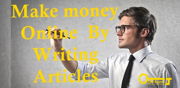 Content writing service earning through