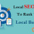 Local SEO Factors To Rank Your Local Business